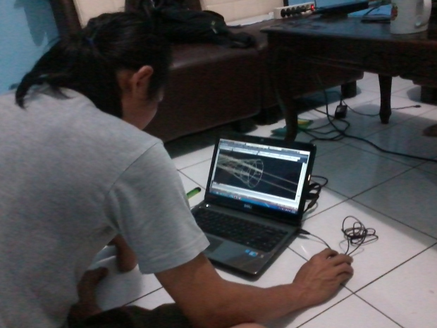 Kursus AutoCAD 3D Tower LubangBuaya Halim Jakarta Timur