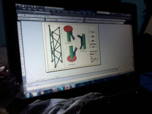 Materi Kursus AutoCAD 3D Tower Lubang Buaya Halim JakartaTimur