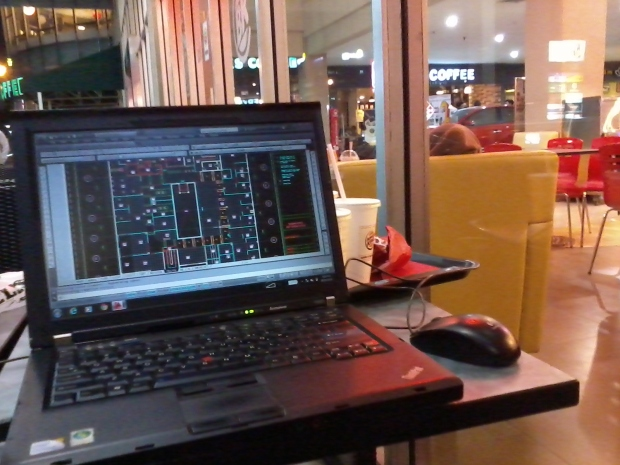 Kursus AutoCAD Interior Design di BurgerKing TebetGreen Jakarta Selatan