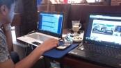 Training SEO Web Administrator di Kopi Luwak Blok M Plaza