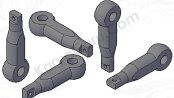 Tutorial AutoCAD Primitive 3D Solid Mechanical Part