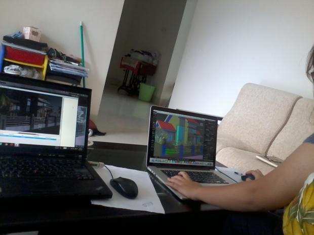 Kursus AutoCAD for mac 3D bondongan Bogor