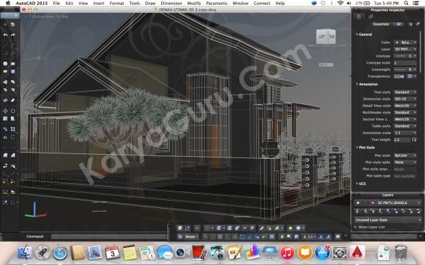 Kursus Private AutoCAD for Mac 3D Bondongan Bogor