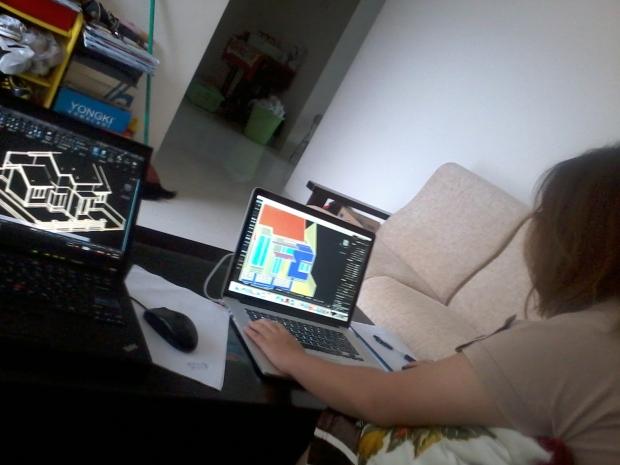 Kursus private AutoCAD for Mac 3D Rendering Jl Pahlawan Bondongan Bogor