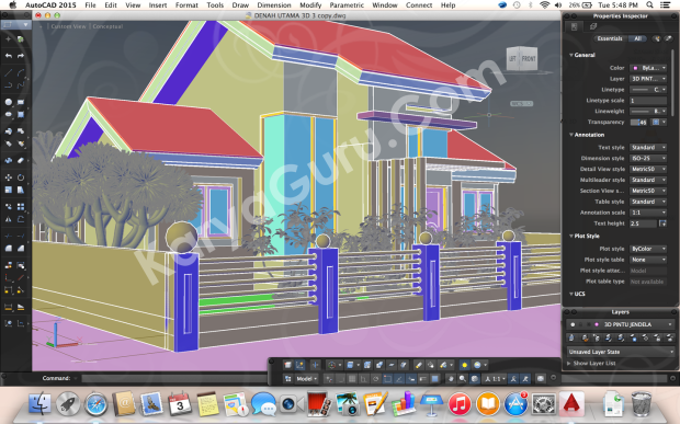 Kursus Private AutoCAD for Mac Bogor