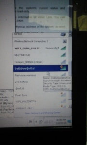 Hasil Repeater Wireless IndoSchool@wifi.id