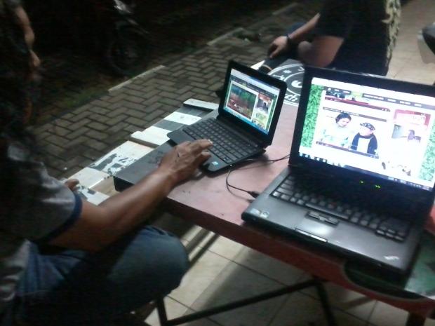 Training Web Administrator di Pasar Segar Depok