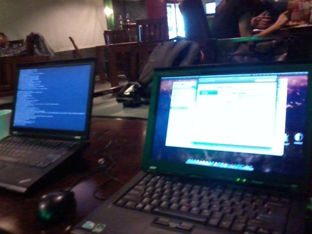 Belajar Web Administrator di Zoe Cafe Margonda Depok JawaBarat