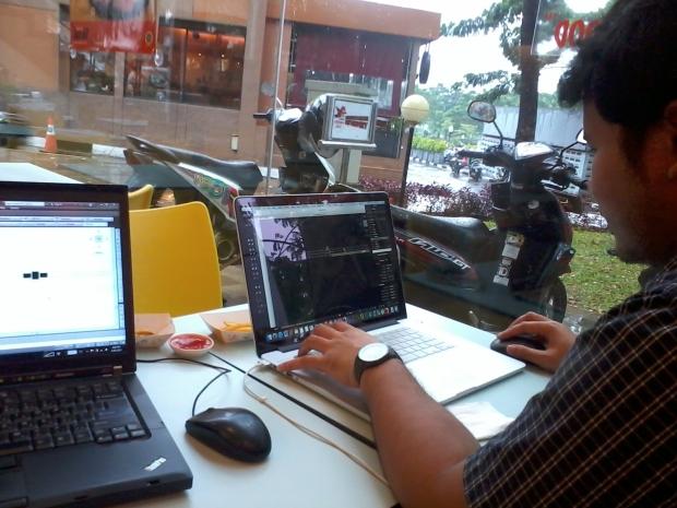 Kursus AutoCAD di A&W Green Terrace TMII Jakarta Timur