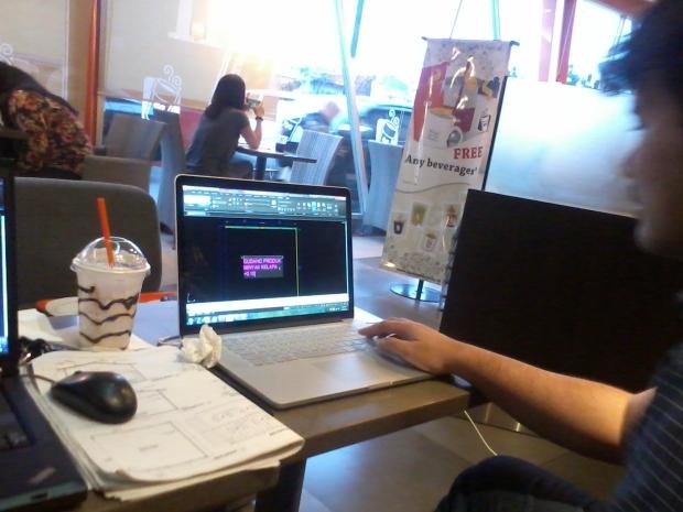 Kursus AutoCAD di Dunkin Donut Tamini Square Jakarta Timur