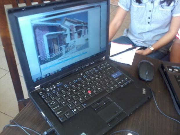 training autocad 3d rendering depok margonda