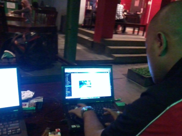 Training Web Administrator di Zoe Cafe Margonda Depok Jawa Barat