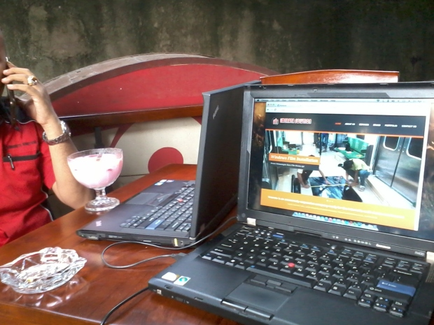 Training Web Administrator di Zoe Cafe Margonda Depok JawaBarat