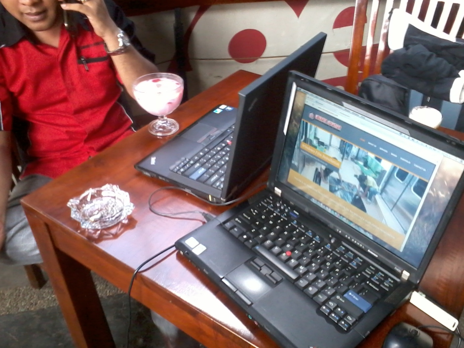 Training Web Administrator di Zoe Caffe Margonda Depok JawaBarat