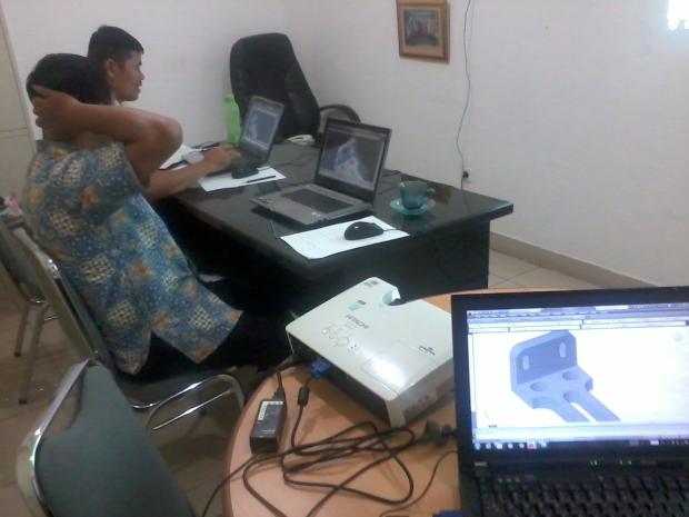 Kursus 3D AutoCAD di Cawang Jakarta Timur Indonesia