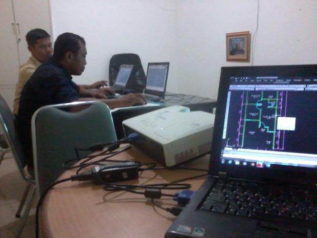 Kursus AutoCAD di jl. Swadaya Cawang Jakarta Timur