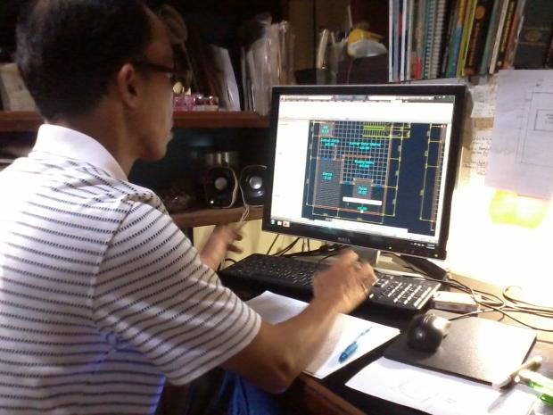 Kursus AutoCAD Denah di BukitDuri Tebet JakartaSelatan Indonesia