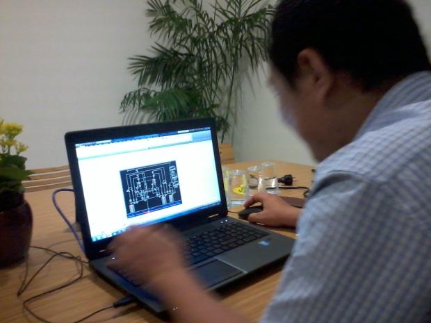 Kursus AutoCAD di Intirub Business Park Halim Jakarta Timur
