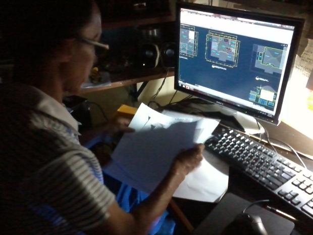 Kursus AutoCAD Kontraktor Rumah Tinggal 2 Lantai