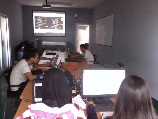 Training AutoCAD 3D di Pluit Penjaringan Jakarta Utara
