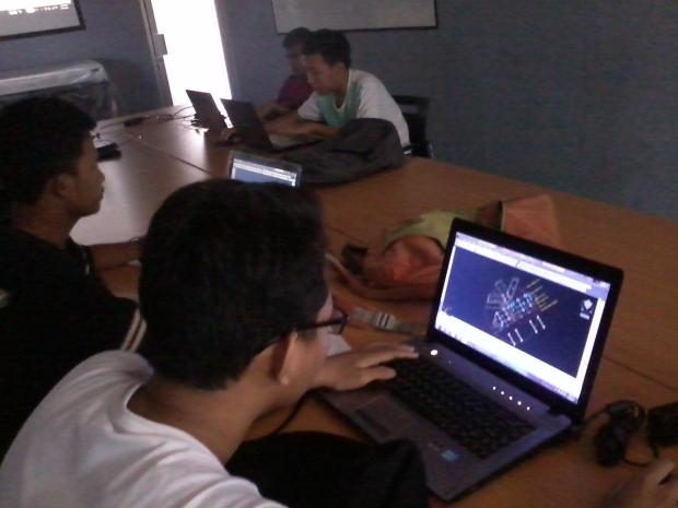 Training AutoCAD 3D Pluit Penjaringan Jakarta Utara
