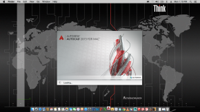Autodesk AutoCAD 2015 for Mac Hackintosh 10.10.4 Yosemite Lenovo Thinkpad X220