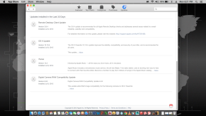 Update Apple Store Hackintosh 10.10.4 Yosemite Lenovo Thinkpad X220