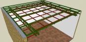 rangka plafond bawah hollow 4x6 dan 2x4