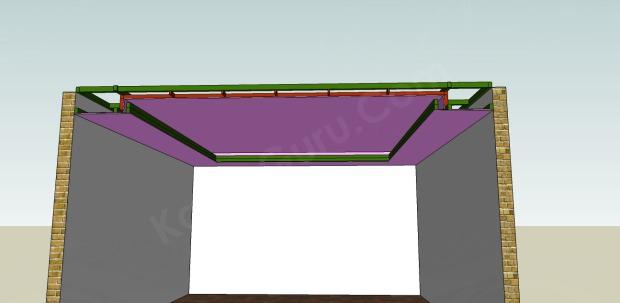 pemasangan plafond gypsum bawah