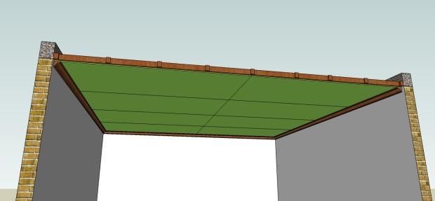 pemasangan list plafond kayu