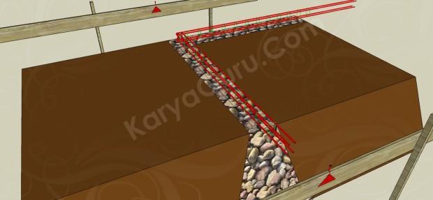 tulangan besi beton sloof