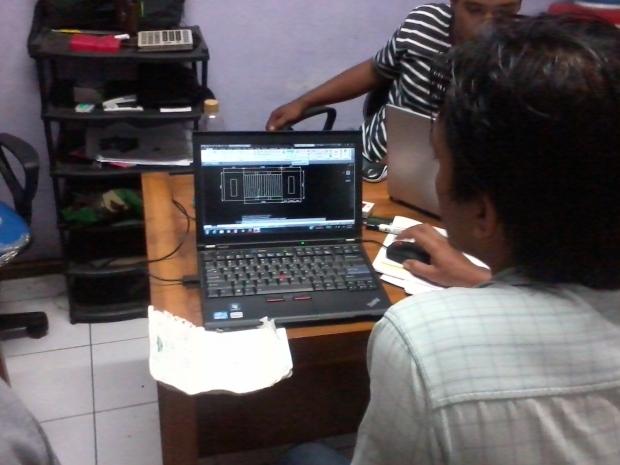 AutoCAD Training di Rawabebek Kalibaru Bekasi Barat
