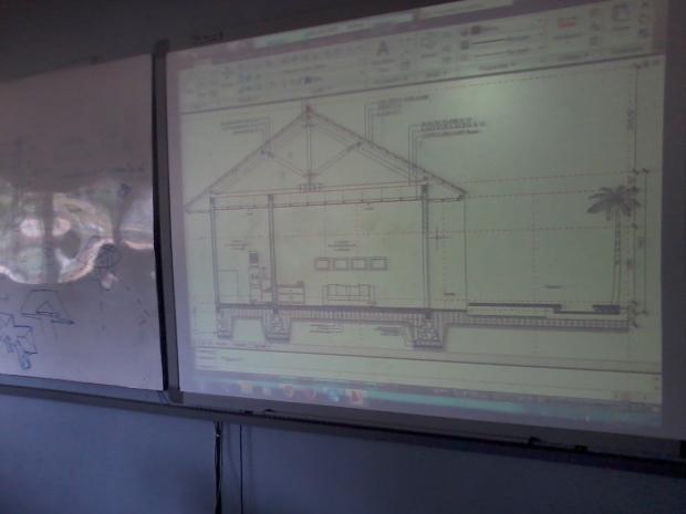 Training AutoCAD Potongan Teknik Bangunan Arsitektur di SMKN 56 Pluit Jakarta Utara