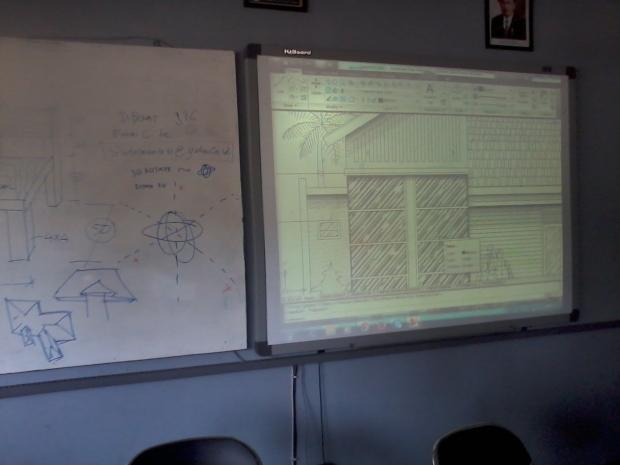 Training AutoCAD Tampak Teknik Bangunan Arsitektur di SMKN 56 Pluit Jakarta Utara