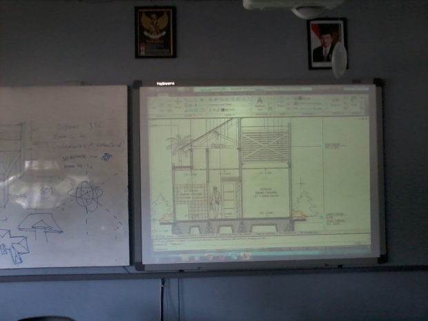 Training AutoCAD Teknik Bangunan Arsitektur di SMKN 56 Pluit Jakarta Utara