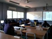 Training AutoCAD Teknik Bangunan di SMKN 56 Jakarta Utara