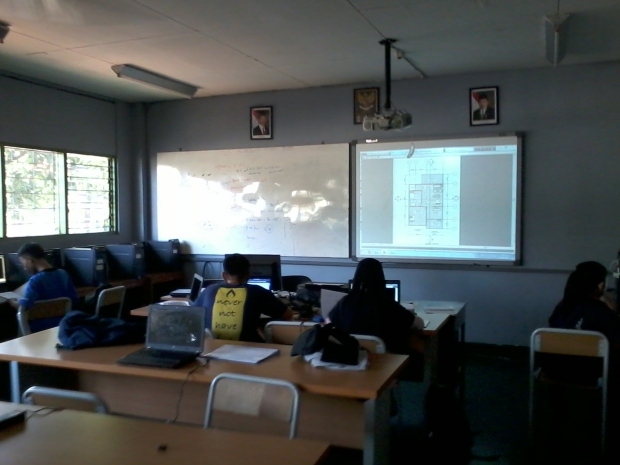 Training Kursus AutoCAD Teknik Bangunan Arsitektur di SMKN Pluit Jakarta Utara