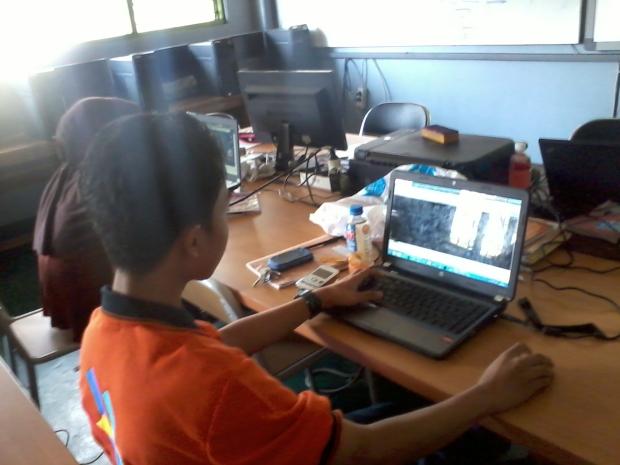 Training Kursus AutoCAD Teknik Gambar Bangunan Arsitektur di SMKN 56 Pluit Jakarta Utara