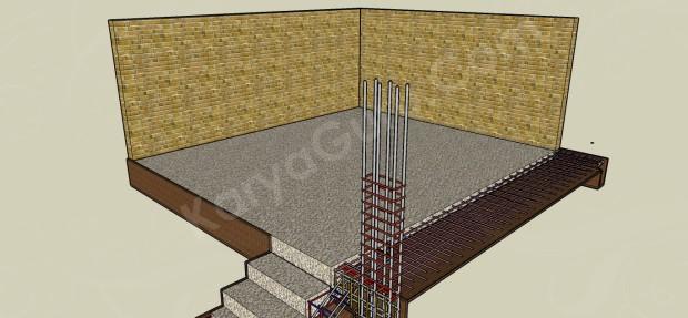 pemasangan dinding