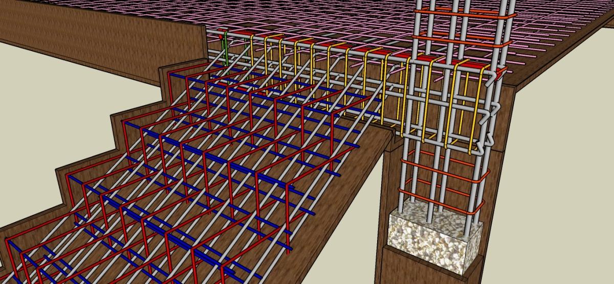 Materi Belajar Pembesian Struktur Beton Bangunan
