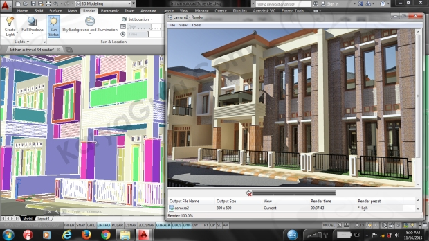 Camera2 Training AutoCAD 3D Rendering