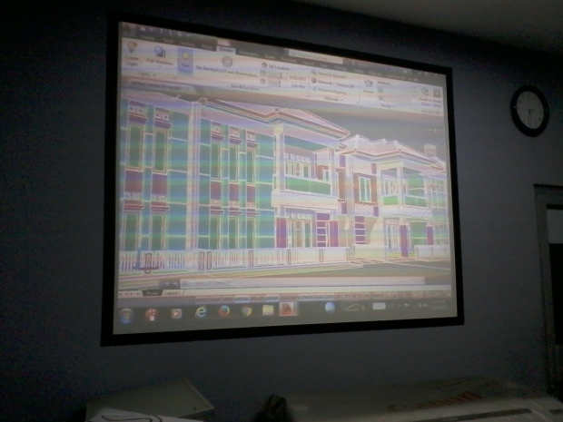 Hasil Training AutoCAD 3D Modeling