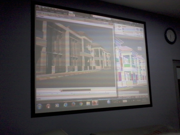 Hasil Training AutoCAD 3D Rendering