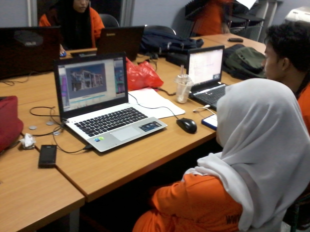 Kursus AutoCAD 3D Rendering Teknik Bangunan di SMKN Penjaringan Jakarta Utara