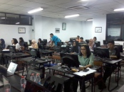 pelatihan autocad di teknik lingkungan fakultas arsitektur lansekap universitas trisakti
