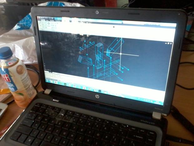 Training AutoCAD 3D Model Konstruksi Bangunan di SMKN Penjaringan Jakarta