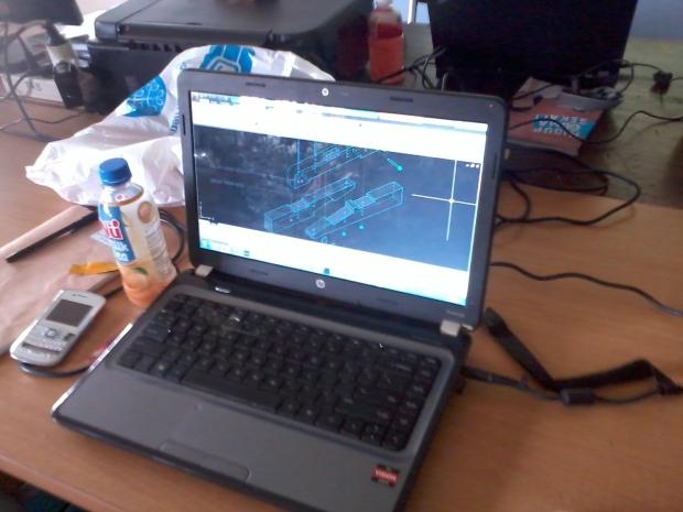 Training AutoCAD 3D Model Konstruksi Bangunan di SMKN Pluit Jakarta