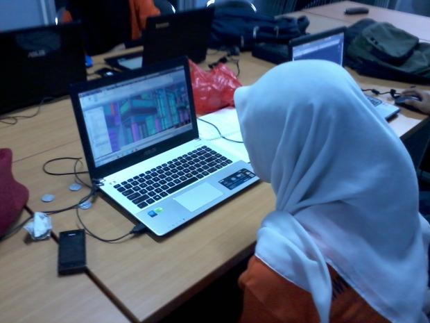 Training AutoCAD 3D Rendering Teknik Bangunan di SMKN Pluit Jakarta Utara