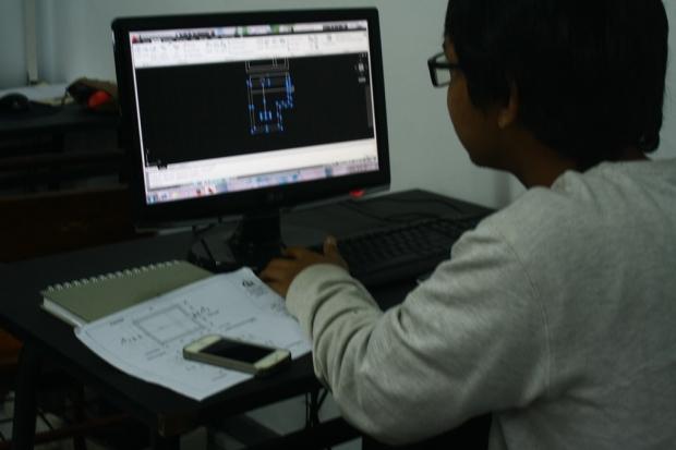 Training Belajar AutoCAD Teknik Lingkungan Fakultas Arsitektur Lansekap Universitas Trisakti