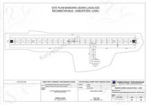 SITEPLAN SISTEM AIRFIELD LIGHTING (AFL) BANDAR UDARA